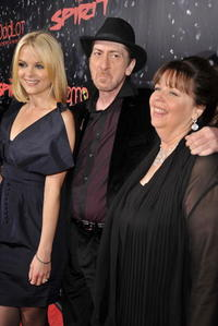 Jaime King, Frank Miller and Deborah Del Prete at the Los Angeles premiere of
