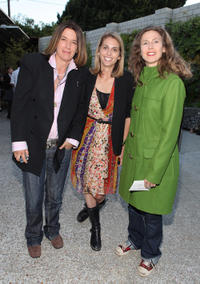 Gigi Gaston, Joanna Adler and Sophie B. Hawkins at the California premiere of