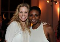 Kristin Bauer and Adina Porter at the Nelsan Ellis Hosts HBO's