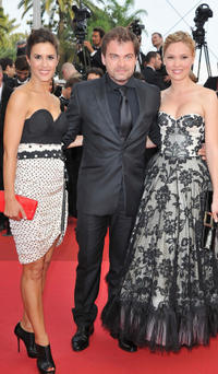Olivia Bonamy, Clovis Cornillac and Lilou Fogli at the premiere of