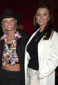 Julie McCullough and Ava Fabian at the Unveiling of the