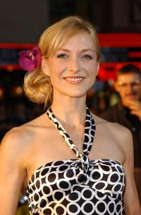Mia Cottet at the premiere of