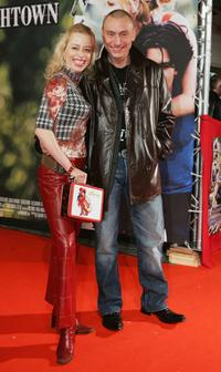 Sonja Kerskes and Werner Daehn at the German premiere of