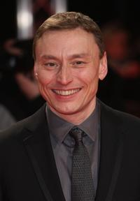 Werner Daehn at the European premiere of