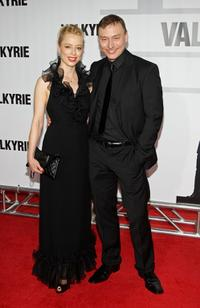 Sonja Kerskes and Werner Daehn at the premiere of