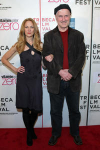 Marsha Dietlein and Brian Delate at the premiere of