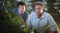 Danny Mcbride as Will and Will Ferrell as Dr. Rick Marshall in
