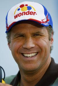 Will Ferrell at the USG Sheetrock 400 Practice.