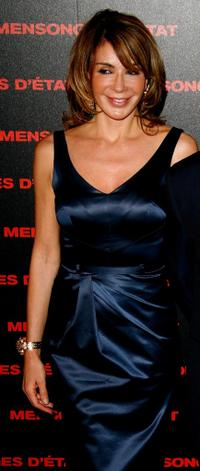 Giannina Facio at the Paris premiere of