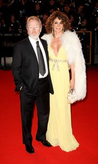 Ridley Scott and Giannina Facio at the Orange British Academy Film Awards (BAFTAs).