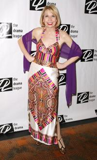 Julie Halston at the Drama League's 25th Annual All Star benefit gala.