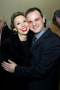 Julie Halston and Carl Andress at the opening night of