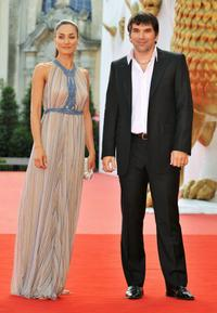 Basak Koklukaya and Guest at the premiere of