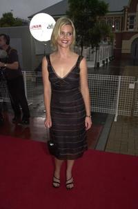 Sophie Lee at the Emirates AFI Awards 2000.