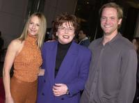 Holly Hunter, Billie Jean King and Matt Letscher at the premiere of
