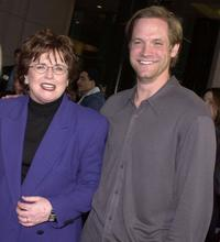 Billie Jean King and Matt Letscher at the premiere of