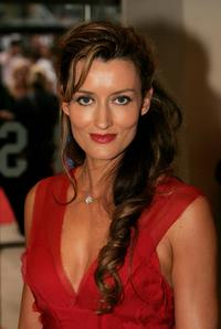 Natascha McElhone at the premiere of