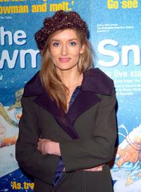 Natascha McElhone at the gala performance