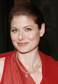 Debra Messing at the celebration of Eli Halili of Agas & Tamar jewelry.