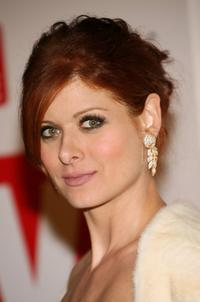 Debra Messing at the 4th Annual TV Guide after party celebrating Emmys 2006.