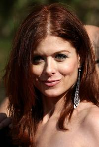 Debra Messing at the 59th Annual Emmy Awards.