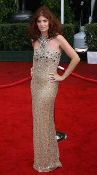 Debra Messing at the 14th Screen Actors Guild Awards.