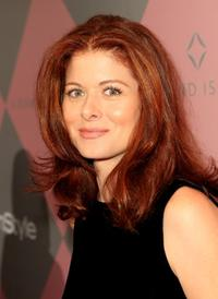 Debra Messing at the InStyle Diamond Fashion Show.
