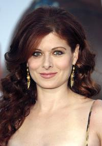 Debra Messing at the premiere of