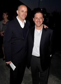 Neal H. Moritz and Adam Fogelson at the premiere of