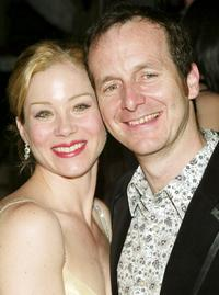 Denis O'Hare and Christina Applegate at the after party of the opening night of