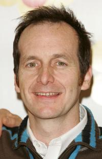 Denis O'Hare stands backstage after rehearsing for the broadway musical