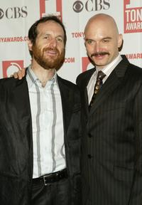Denis O'Hare and Michael Cerveris at the 2004 Tony Awards Nominees Press Reception.
