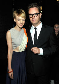 Carey Mulligan and Nicolas Winding Refn at the Film District party during the Comic-Con 2011 in California.