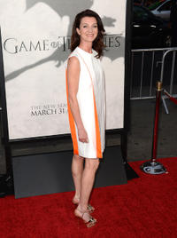 Michelle Fairley at the California premiere of