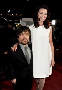 Peter Dinklage and Michelle Fairley at the California premiere of