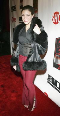 Tiffany Shepis at the launch party of