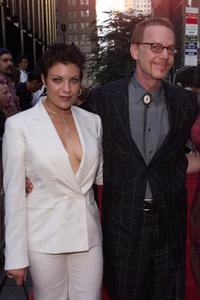 Tiffany Shepis and Danny Elfman at the World premiere of