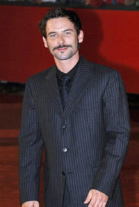 Sagamore Stevenin at the Patricia McQueeney Awards during the Rome Film Festival.