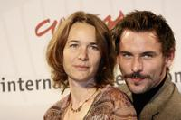 Anne Coesens and Sagamore Stevenin at the photocall of