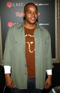 Donald Faison at the Justin Timberlake performance celebrating JT-TV.