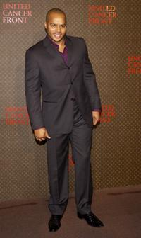 Donald Faison at the Louis Vuitton United Cancer Front Gala.
