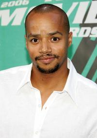 Donald Faison at the 2006 MTV Movie Awards.