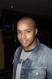 Donald Faison at the Australian premiere of