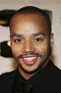 Donald Faison at the premiere of