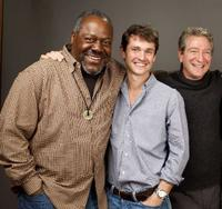 Frankie R. Faison, Hugh Dancy and writer/director Max Mayer at the 2009 Sundance Film Festival.