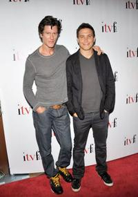 Vincent Ventresca and Erik Palladino at the 4th Annual Independent Television Festival Opening Night Gala.