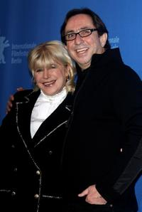 Marianne Faithfull and Sam Garbarski at the photocall of