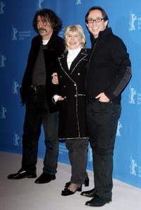 Miki Manojlovic, Marianne Faithfull and Director Sam Garbarski at the promotion of