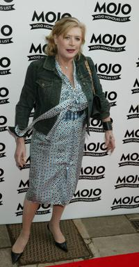 Marianne Faithfull at the Mojo Honours List Music Awards.