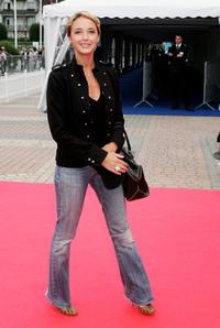 Helene de Fougerolles at the premiere of
